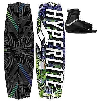 Hyperlite Tribute Wakeboard 142 w/ Focus Boots - Men's