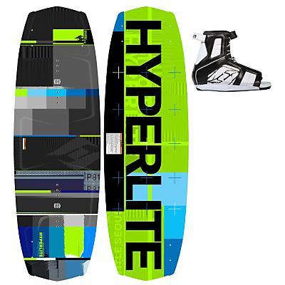 Hyperlite Forefront Wakeboard 144 w/ Remix Boots - Men's