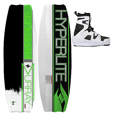 Hyperlite Murray Wakeboard 142 w/ Team Ct Boots - Men's