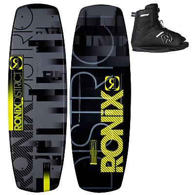 Ronix District Wakeboard 143 w/ Divide Boots - Men's
