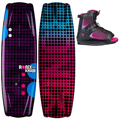 Ronix Krush Wakeboard 134 w/ Luxe Boots - Women's