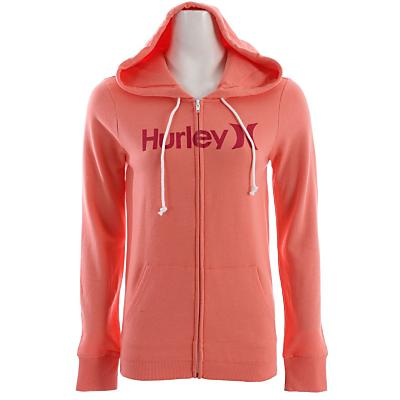 Hurley One & Only Slim Fleece Zip Hoodie - Women's