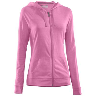 Under Armour Women's Charged Cotton Undeniable FZ Hoody