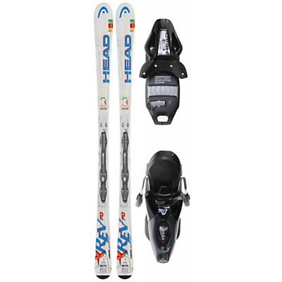 Head Rev 70 Skis w/ Pr 11 Bindings Black Glossy/Silver - Men's