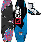 CWB Kink Wakeboard 140 w/ Venza Bindings - Men's