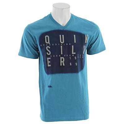 Quiksilver Origin Slim Fit Vneck T-Shirt - Men's