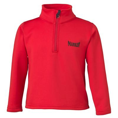 Marker Kids' Active Zip-T Neck Top