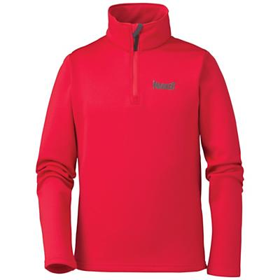 Marker Juniors' Active Zip-T Neck Top
