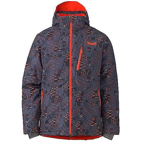 photo: Marker Vertigo Print Jacket synthetic insulated jacket