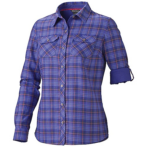 photo: Marmot Vanessa Plaid LS hiking shirt