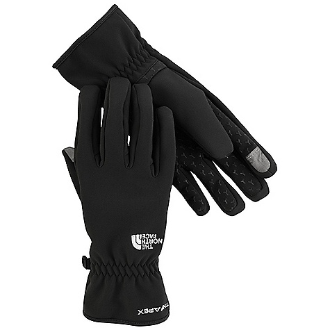photo: The North Face Men's Etip TNF Apex Glove soft shell glove/mitten