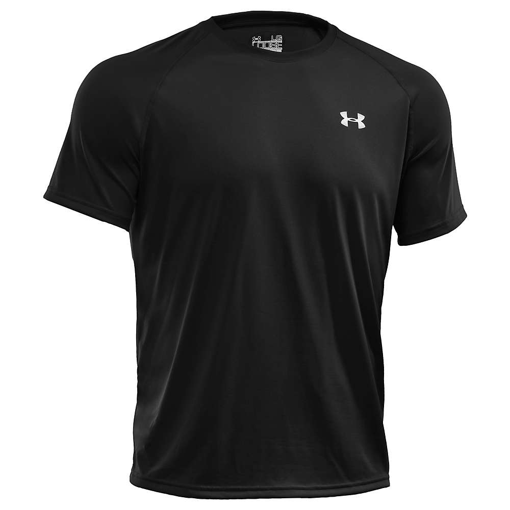Under Armour Men's UA Tech SS Tee - Large - Black / White