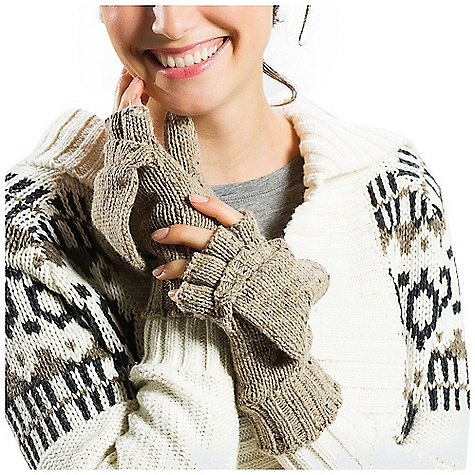photo: Lole 2 Tones Mitts fleece glove/mitten
