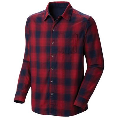 Mountain Hardwear Men's Reverse Grid Long Sleeve Shirt