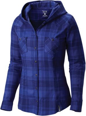 Mountain Hardwear Women's Stretchstone Flannel Hooded Shirt
