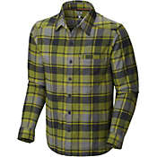 Mountain Hardwear Men's Stretchstone Flannel Long Sleeve Shirt