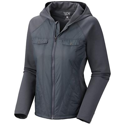 Mountain Hardwear Women's Trekkin Insulated Hybrid Hoody