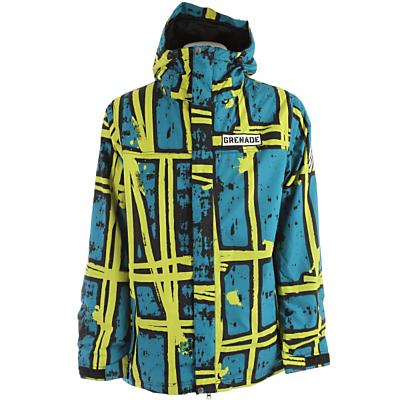 Grenade Doom Stripes Snowboard Jacket - Men's