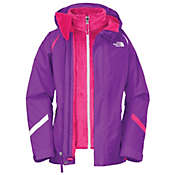The North Face Girls' Kira Mossbud Triclimate Jacket