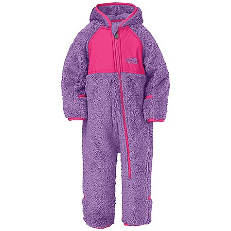 photo: The North Face Kids' Plushee Fleece Bunting kids' snowsuit/bunting