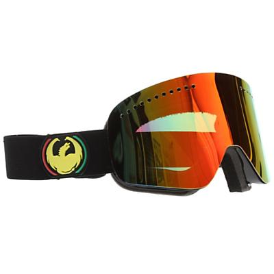 Dragon NFX Goggles Knightrider/Eclipse+Yellow Blue Ionized+Rose Lens - Men's
