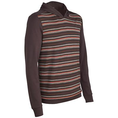 Icebreaker Men's Escape Hood Stripe