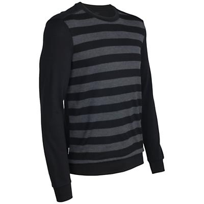 Icebreaker Men's Escape LS Crewe Stripe
