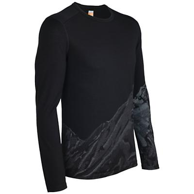 Icebreaker Men's Oasis LS Slopes Crewe