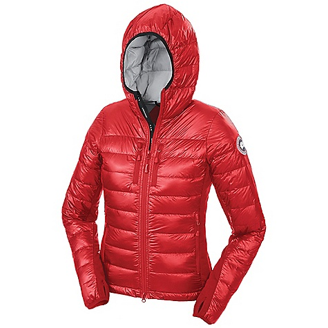 Canada Goose Women's Hybridge Lite Hoody Red