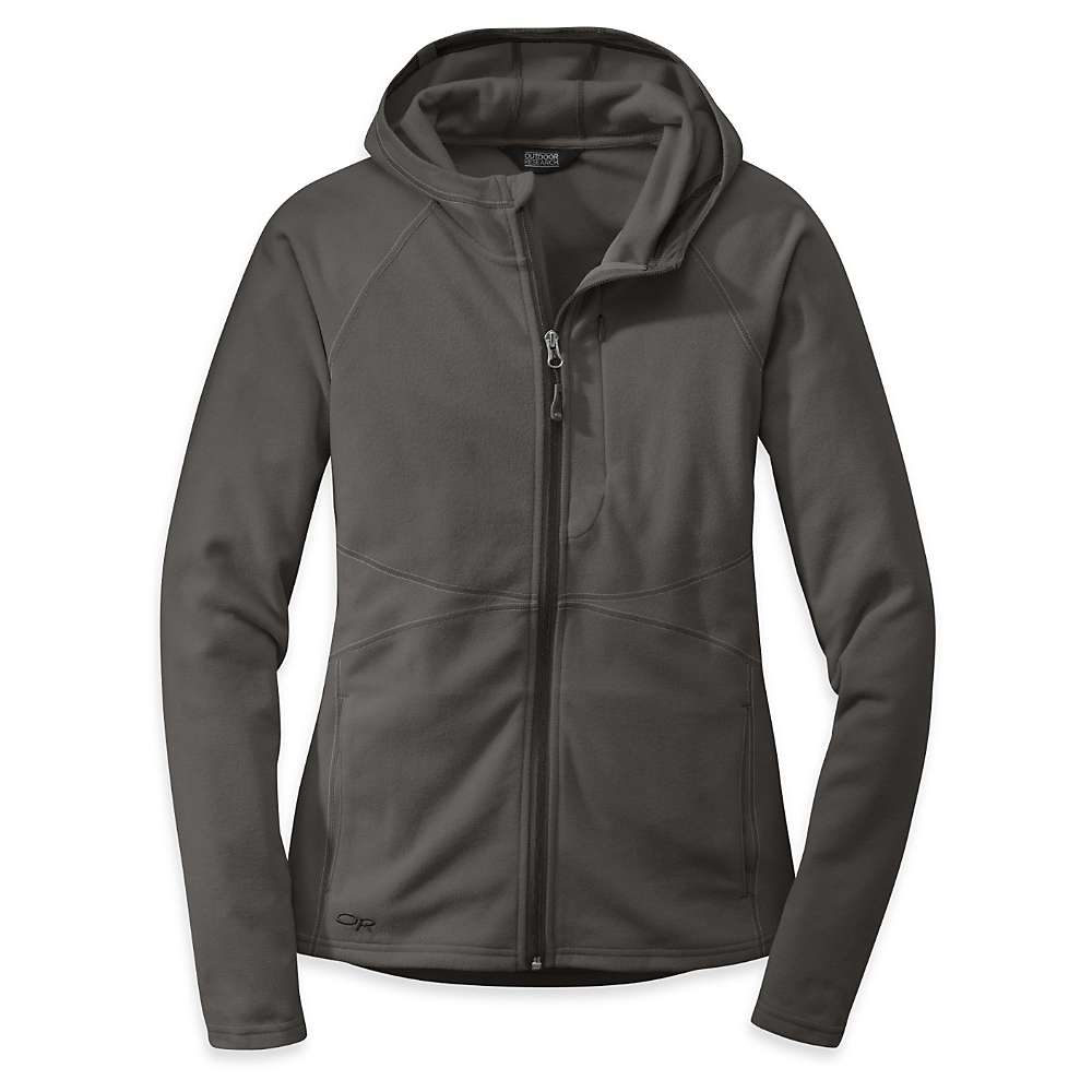 Outdoor Research Women's Soleil Hoody - XL - Charcoal