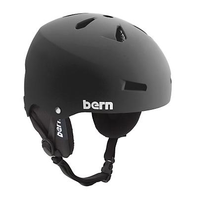 Bern Macon Snowboard Helmet Matte / Knit Audio - Men's
