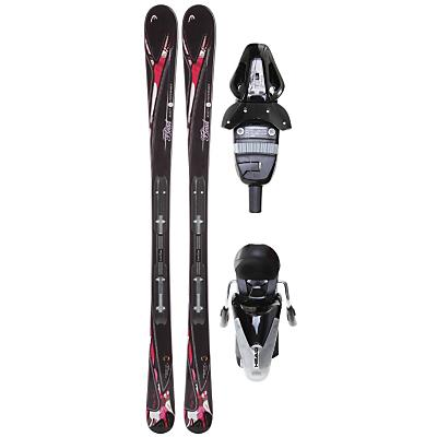 Head Mya No. 3 Skis w/ Mya 9 Lrx Bindings Glossy - Women's