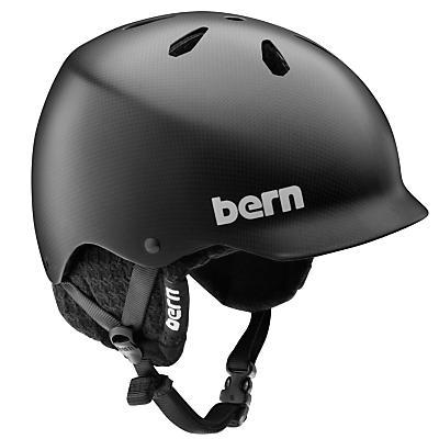 Bern Watts Carbon Fiber Snowboard Helmet - Men's
