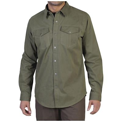 ExOfficio Men's Ansel Canvas Long Sleeve Shirt