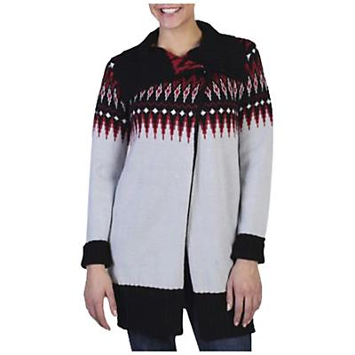 ExOfficio Women's Cafenista Jacquard Wrap Sweater