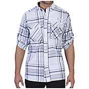ExOfficio Crosswind Macro Plaid Long Sleeve Shirt