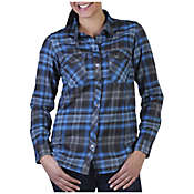 ExOfficio Women's Flyway Flannel Long Sleeve Shirt