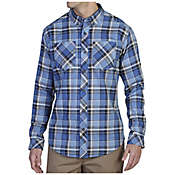 ExOfficio Men's Perugia Plaid Long Sleeve Shirt