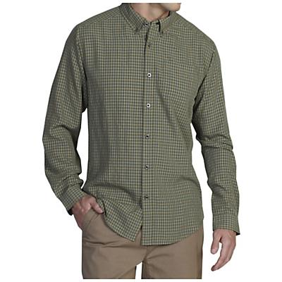 ExOfficio Men's Pisco Plaid Long Sleeve Shirt