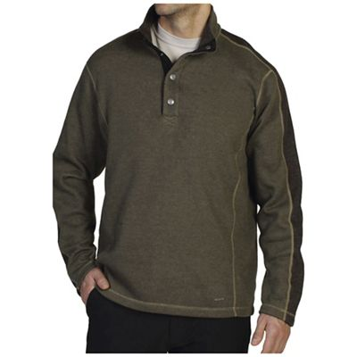ExOfficio Men's Ruvido Snap Henley Sweater