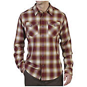 ExOfficio Men's Tucannon Flannel Long Sleeve Shirt