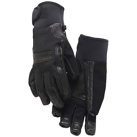 photo: Helly Hansen Leather Ski Glove waterproof glove/mitten
