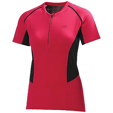 photo: Helly Hansen Pace SS 1/2 Zip short sleeve performance top