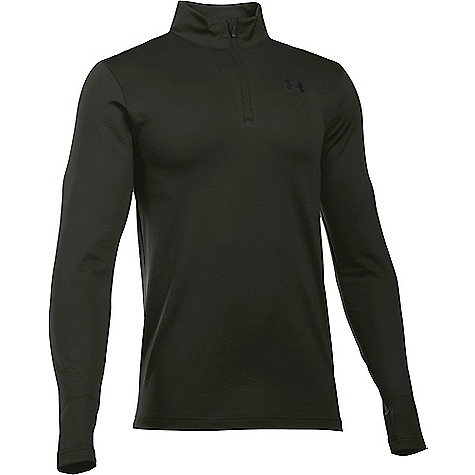 Under Armour Men's ColdGear Infrared Evo 1/4 Zip Top Artillery Green / Black