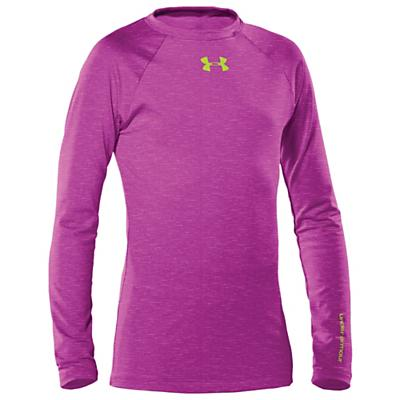 Under Armour Girls' UA Evo CG Fitted Crew