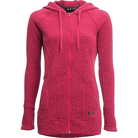 Under Armour Women's Wintersweet FZ Hoody Knock Out / Stealth Grey
