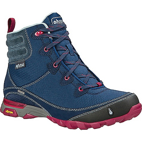 Ahnu Women's Sugarpine Waterproof Boot Blue Spell