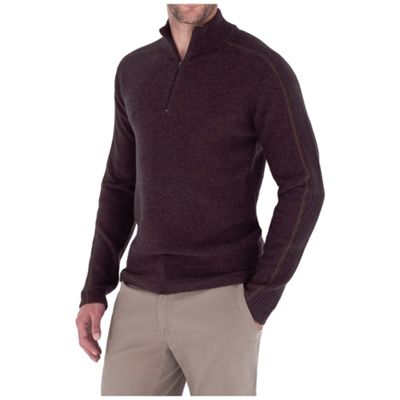 Royal Robbins Men's Fireside Wool 1/4 Zip
