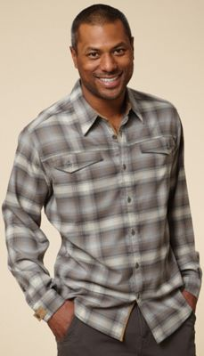 Royal Robbins Men's Taos Heathered Flannel Long Sleeve Top