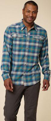 Royal Robbins Men's Taos Heathered Flannel Long Sleeve Top